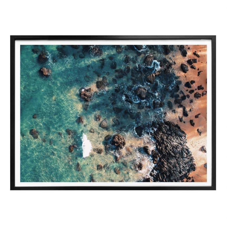 Poster Der Blick von oben: Rocky Beach