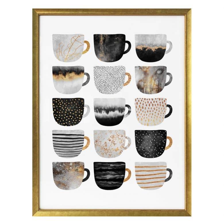 Poster Fredriksson – Tazze di caffè