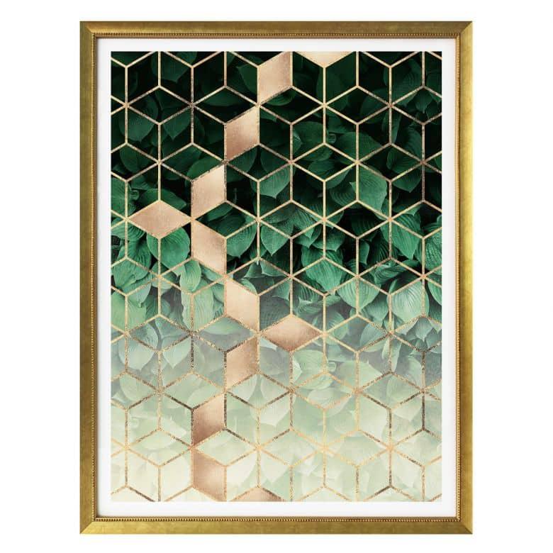 Poster Fredriksson - Natur trifft auf Geometrie
