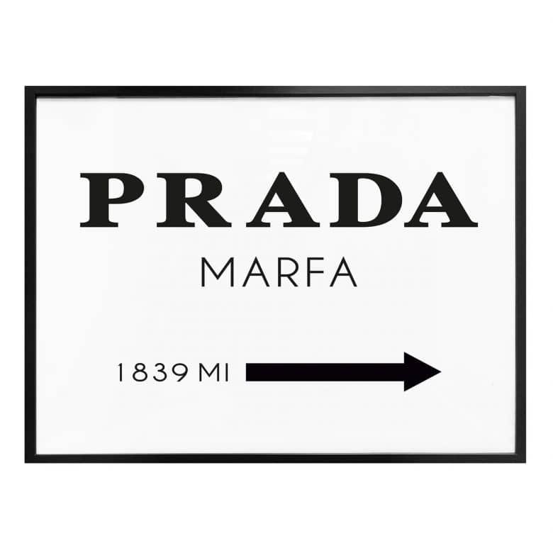Poster Prada Marfa Wall Art Com