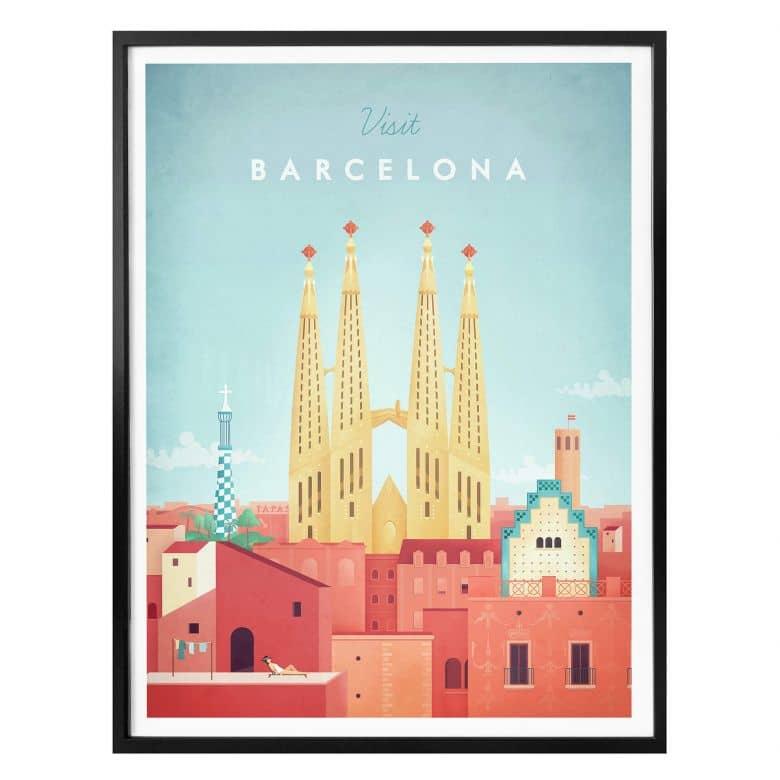 Poster Rivers - Barcelona