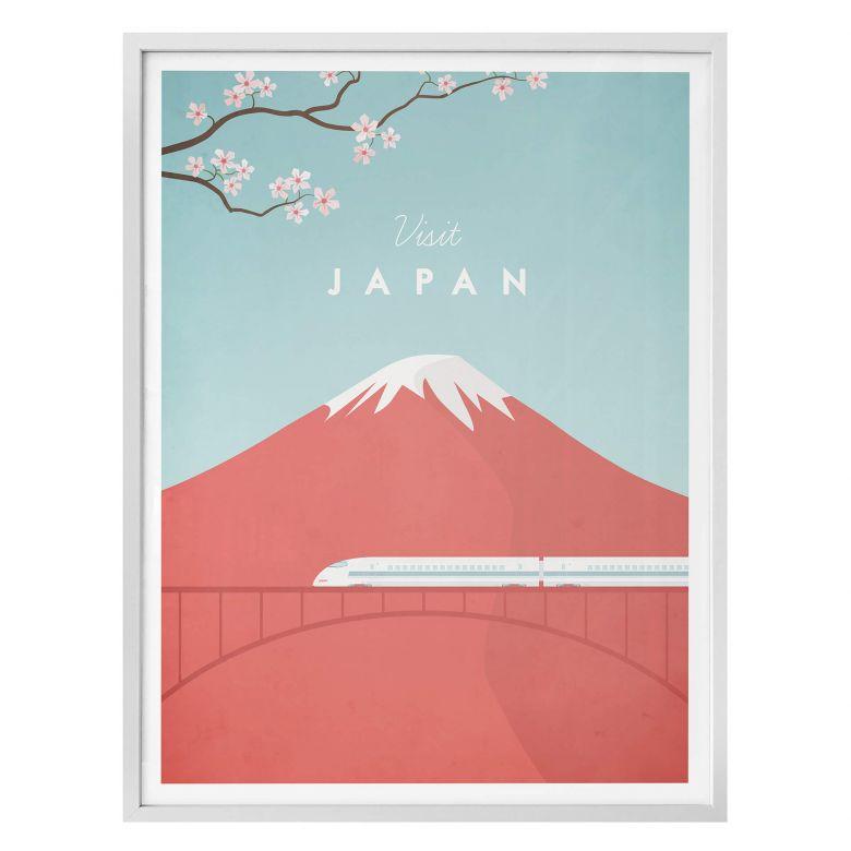 Poster Rivers - Japan
