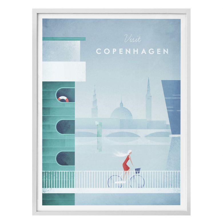 Poster Rivers - Kopenhagen