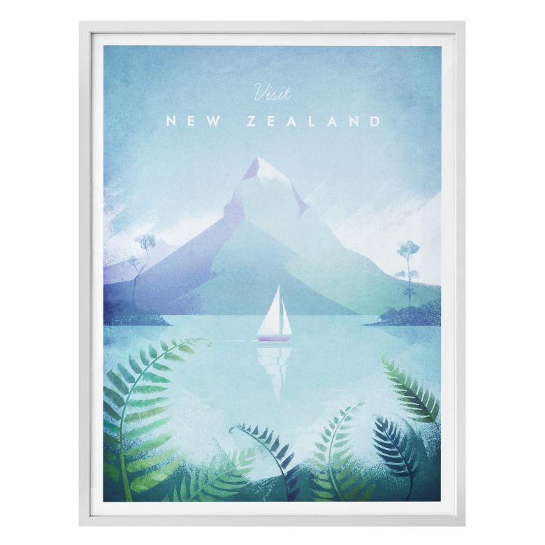 Affiche Rivers - Nouvelle Zélande
