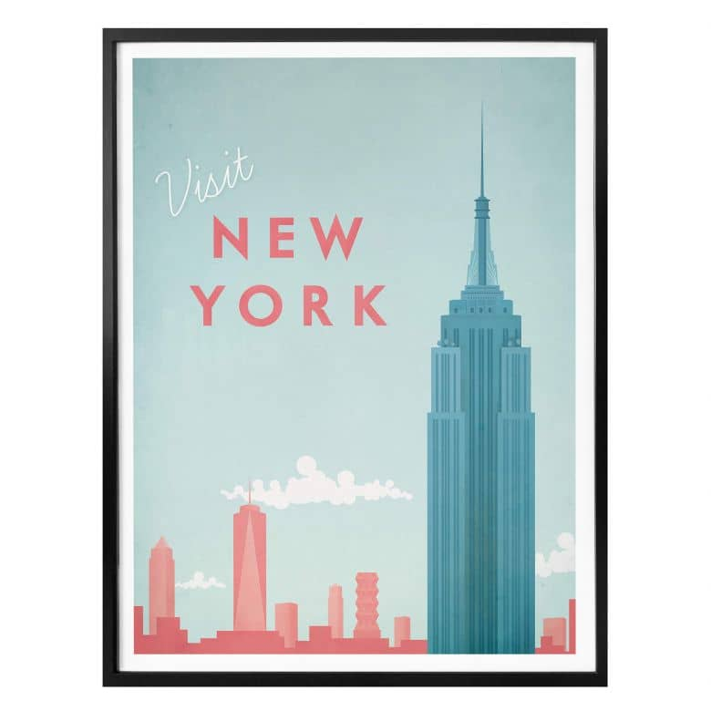 Poster Rivers - New York