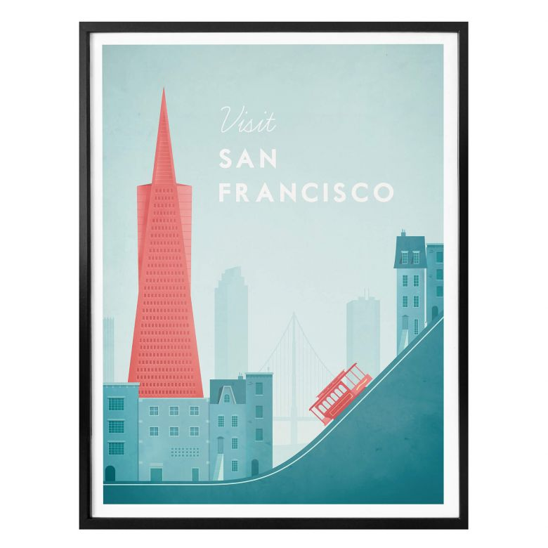 Poster Rivers - San Francisco