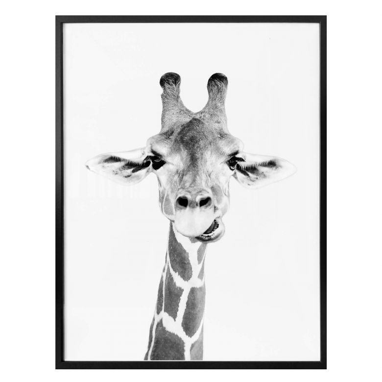 Poster Sisi & Seb - Happy Giraffe