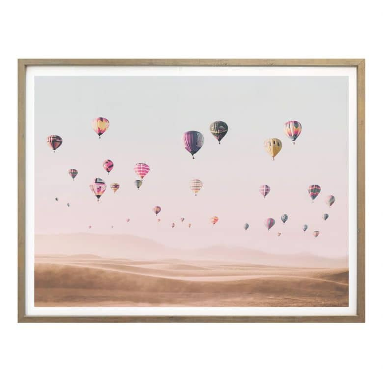 Poster Sisi & Seb - Hot Air Balloons