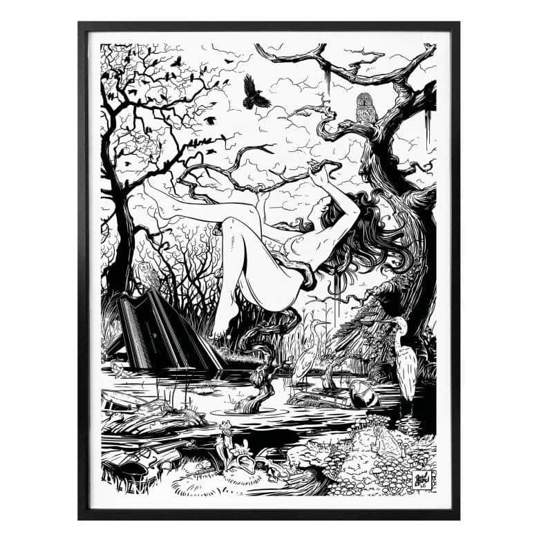Poster Drawstore - Swampland