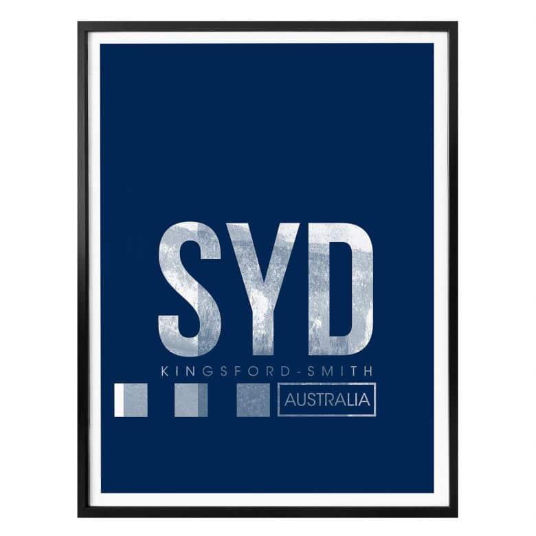 Poster 08Left - SYD Flughafen Sydney