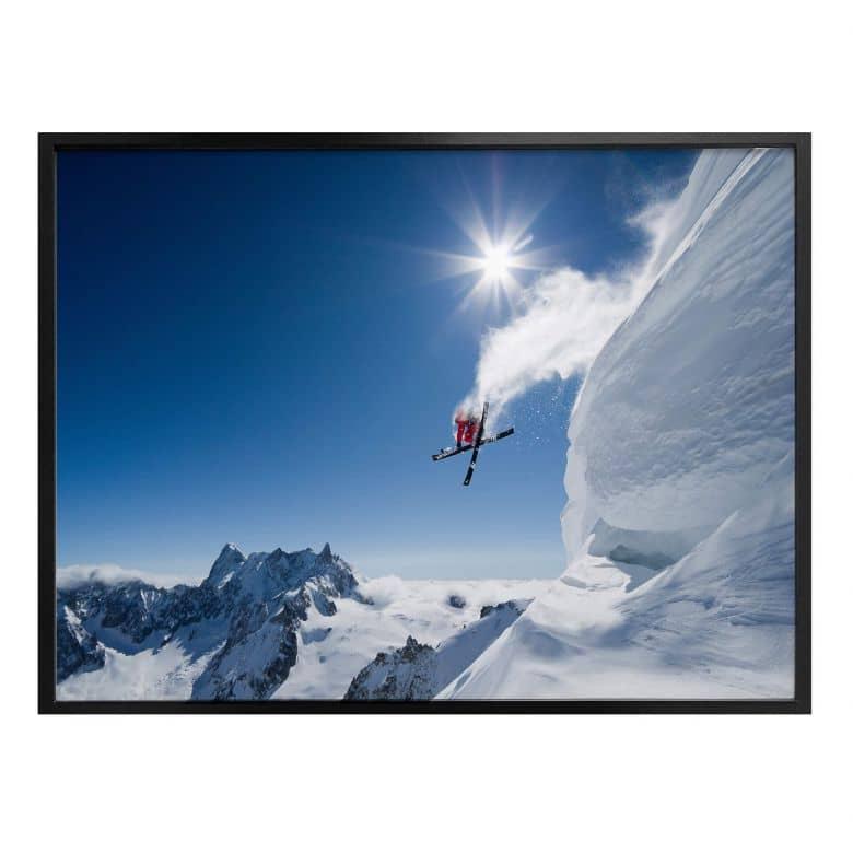 Poster Tristan - Wintersport