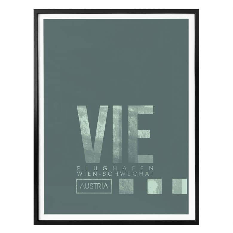 Poster 08Left - VIE Flughafen Wien