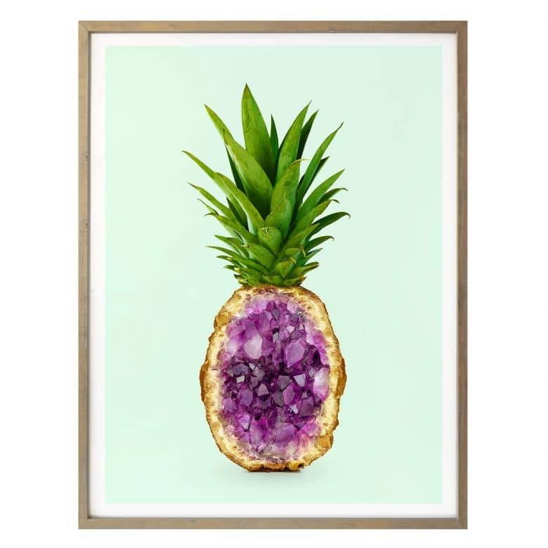 Poster Fuentes - Pineapple Quartz