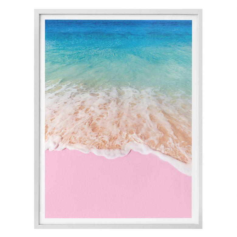 Poster Fuentes – Sabbia rosa