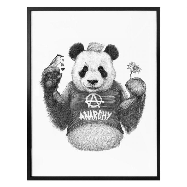 Poster Kools - Punk Panda
