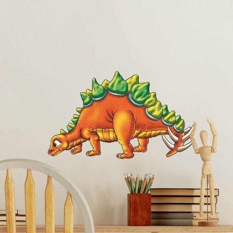 Graue Gestaltung Von Dem Flur Mit Wanddeko Bilderrahmen: Mit Dem Dino Wandaufkleber Bringen Sie