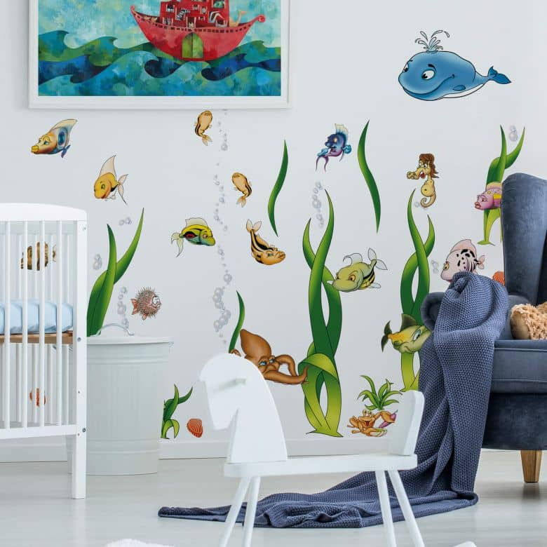 Mega Pack Underwater World Wall sticker