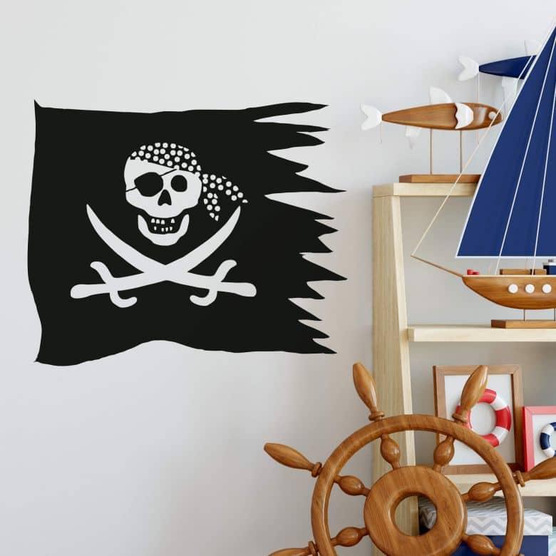 Sticker mural - Pavillon Pirate