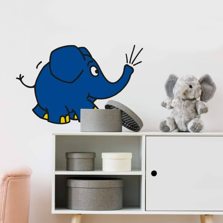 Wandtattoo Elefant 04