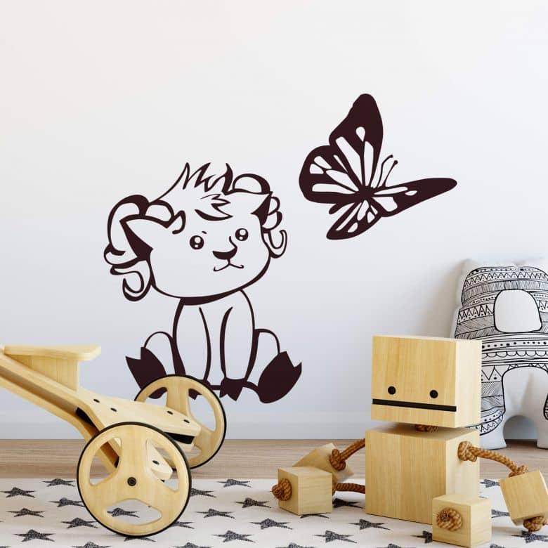 Sticker mural - Bébé Mouflon