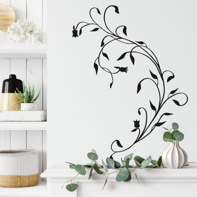 Sticker mural - Branche grimpante