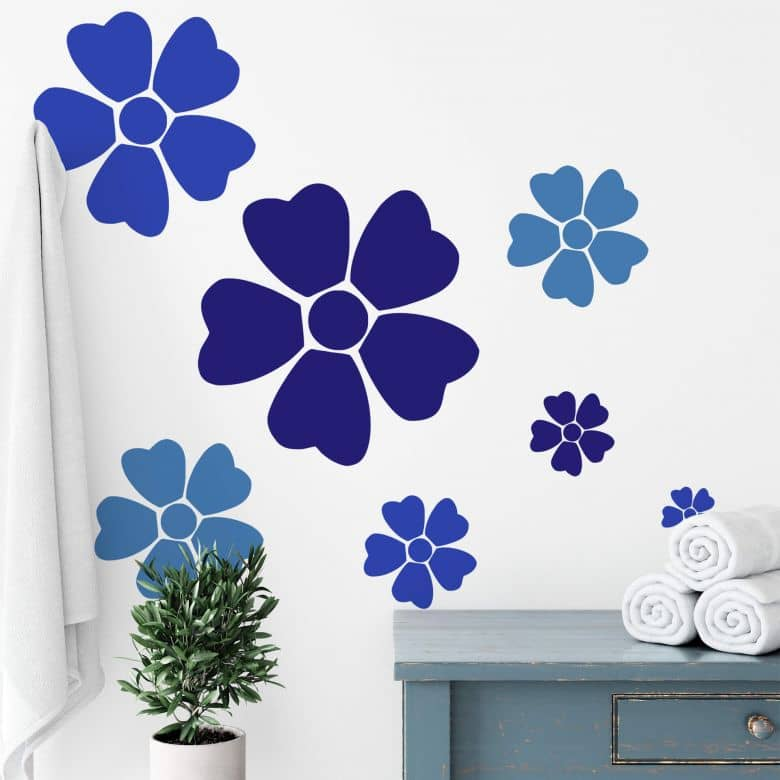 Sticker mural - Fleur