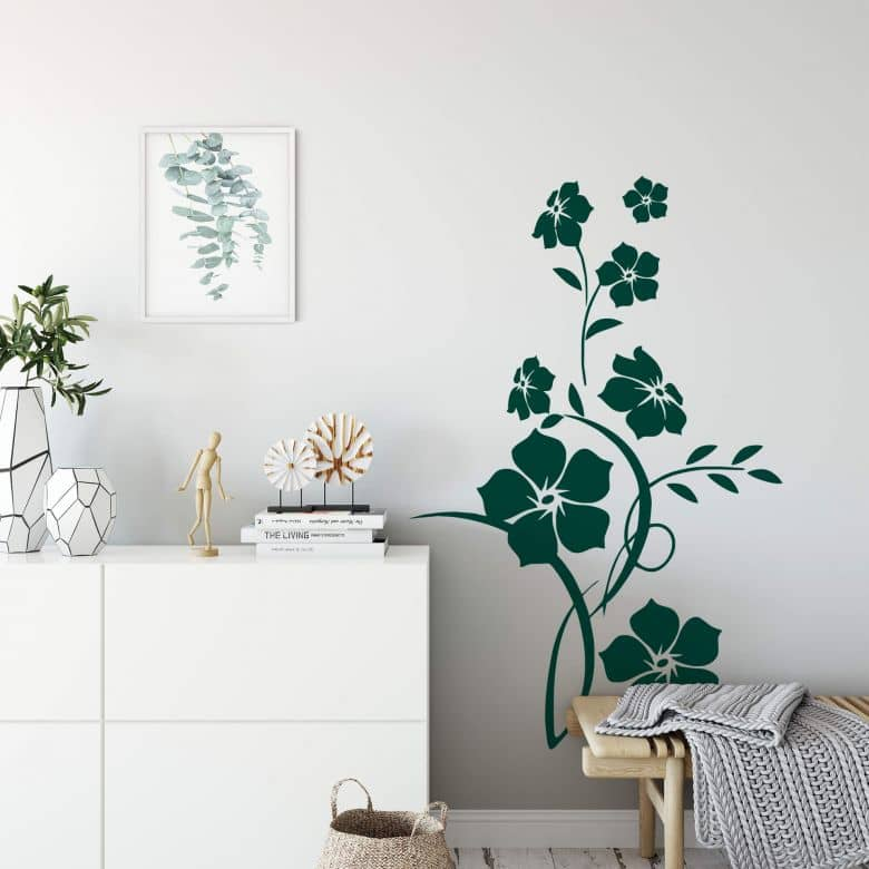 Sticker mural - Jade
