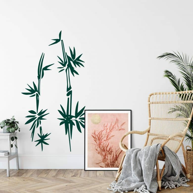 Bamboo 02 Wall sticker