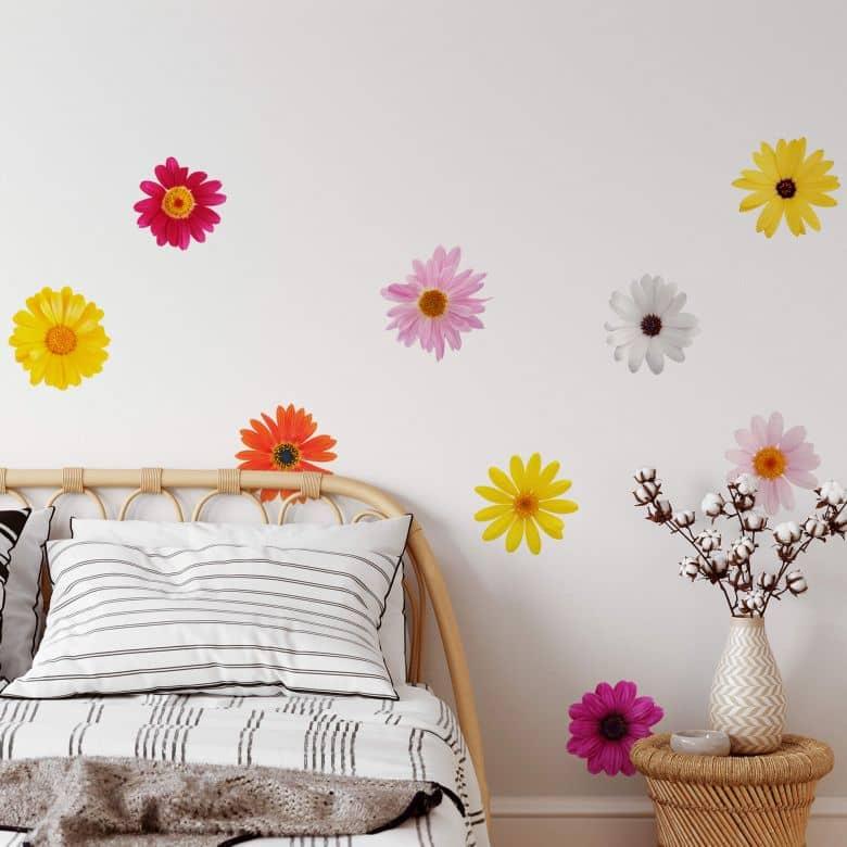Sticker mural - Set de Fleurs