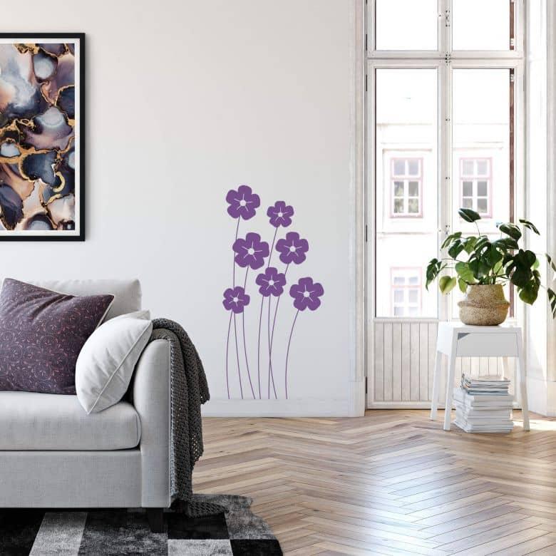 Sticker mural - Fleurs d'Été