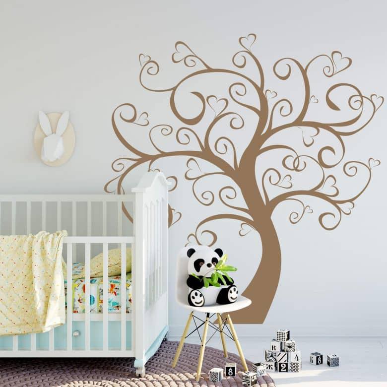 Wandtattoo Baum Der Herzen