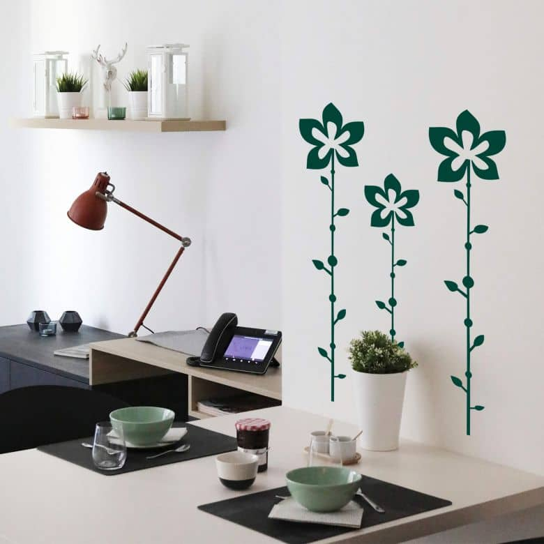 Flower Abstract Wall sticker