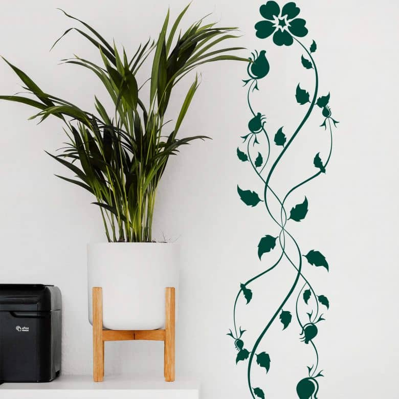 Sticker mural - Flora Fantastica