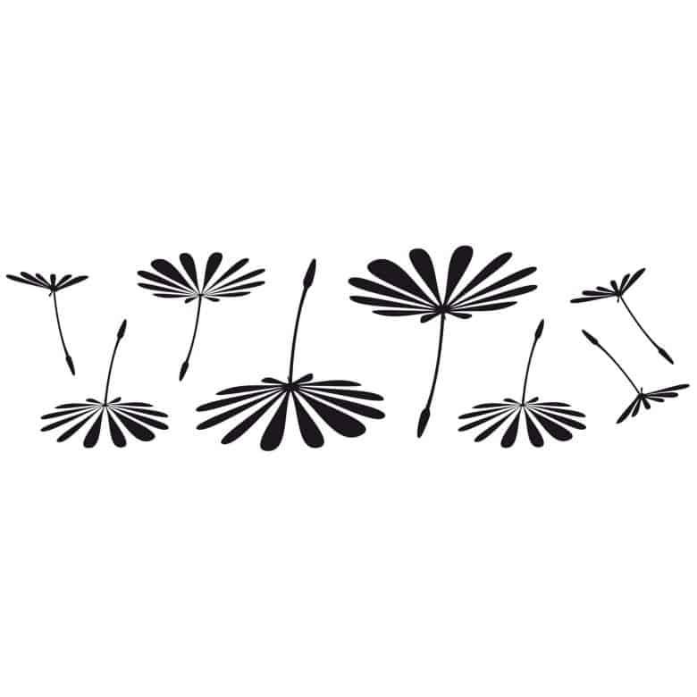 Adesivo murale - Serie supplementi per soffione
