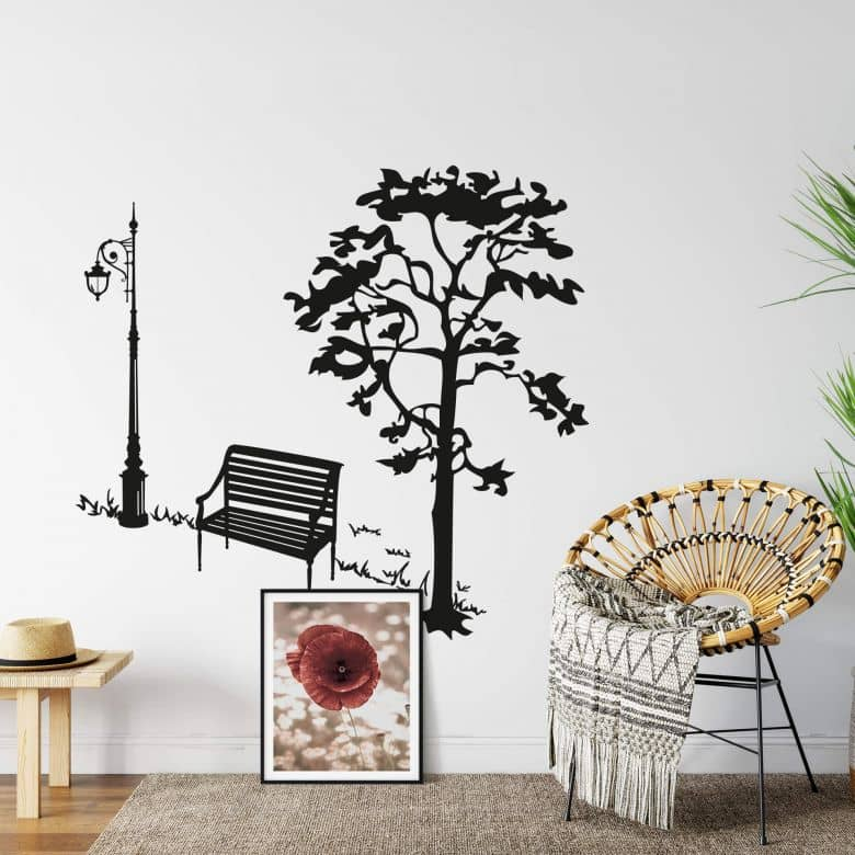 Day at the park Wall sticker