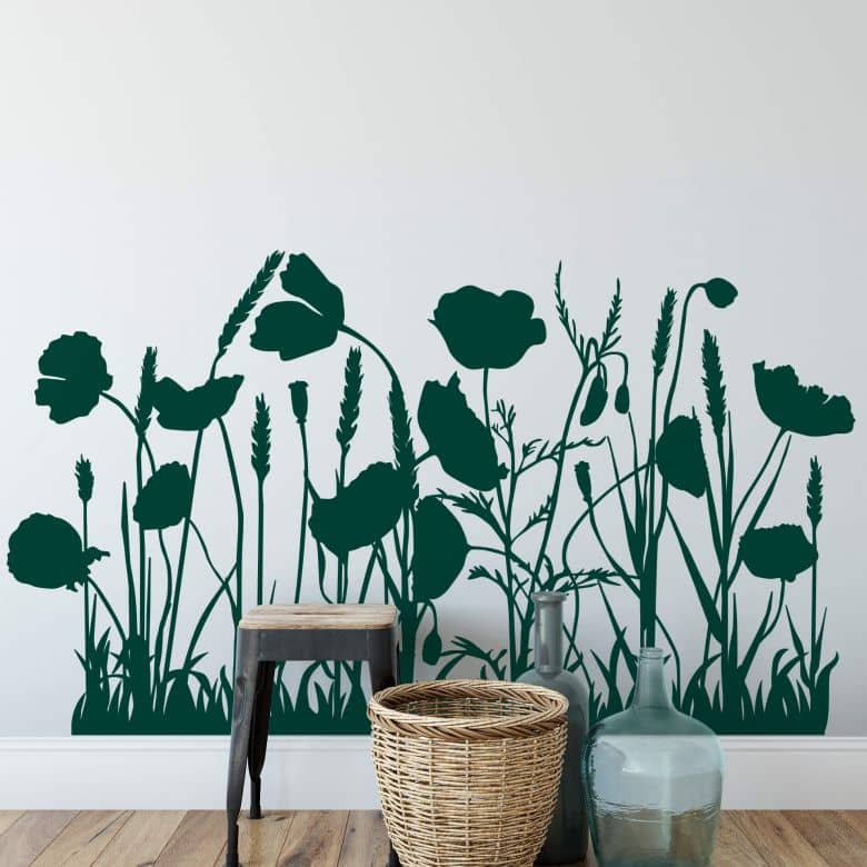 Field of Poppies Wall sticker