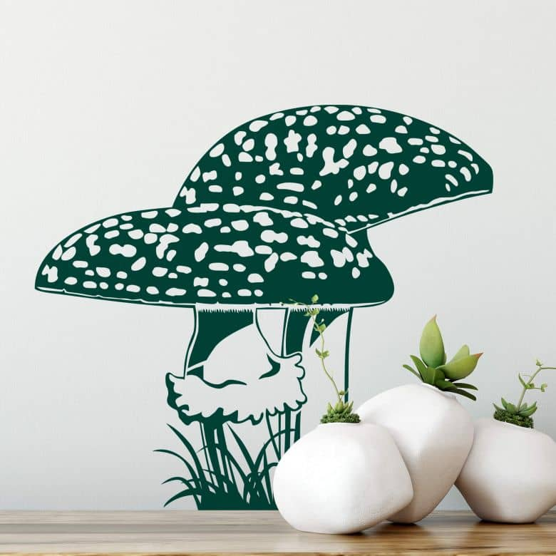 Fly Agaric Wall sticker