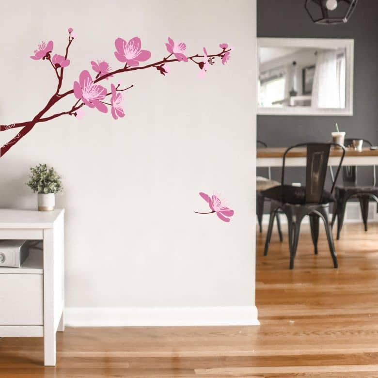 Sticker mural - Fleurs de cerisier 03