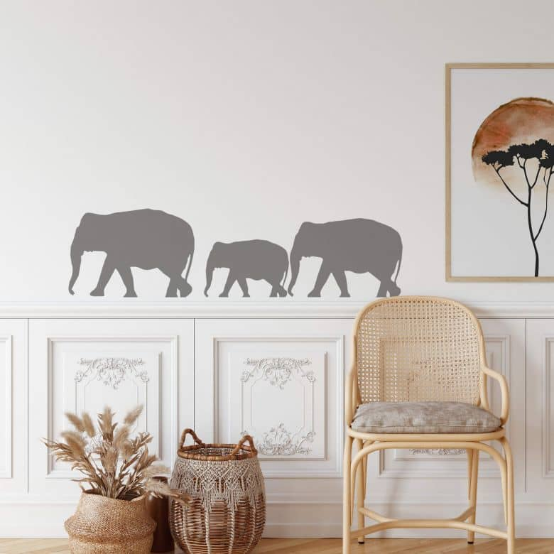 Elephants Wall sticker