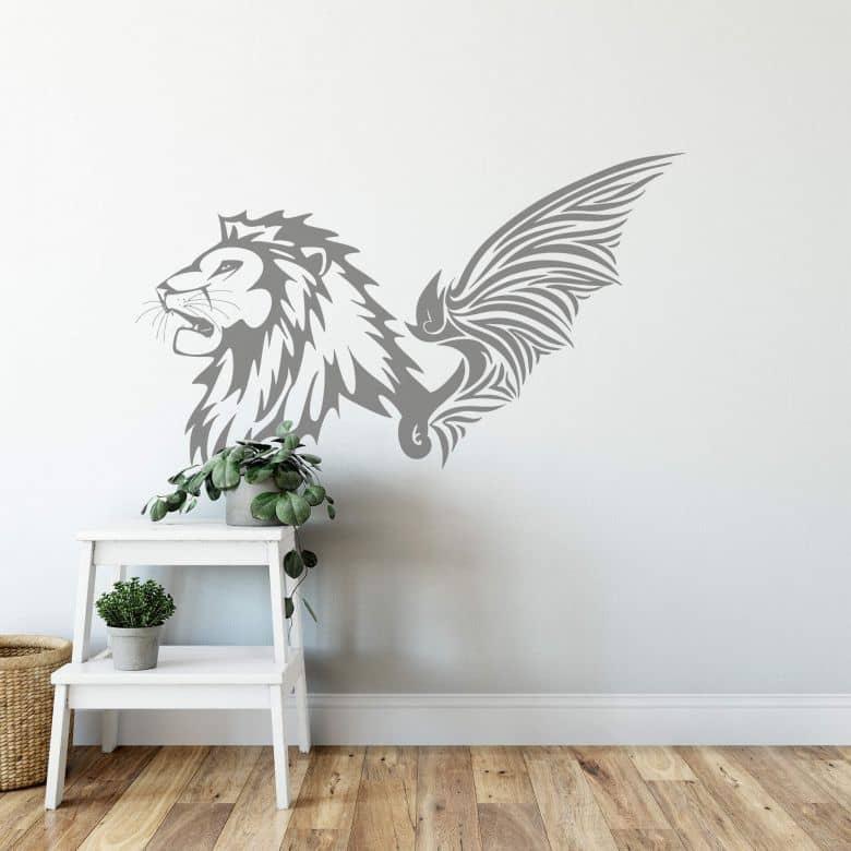 Sticker mural - Lion Ailé