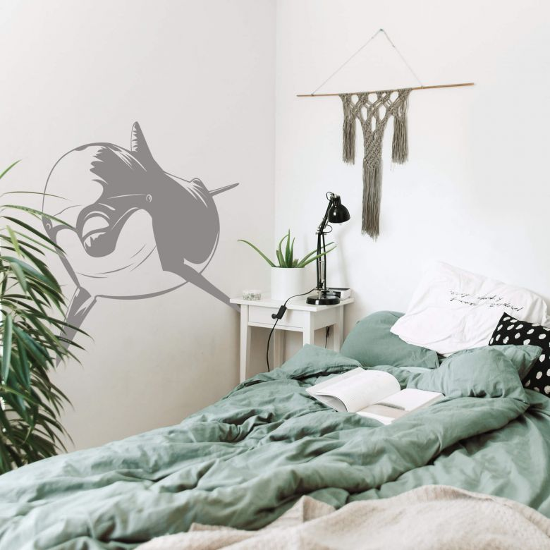 Dolphin 2 Wall sticker