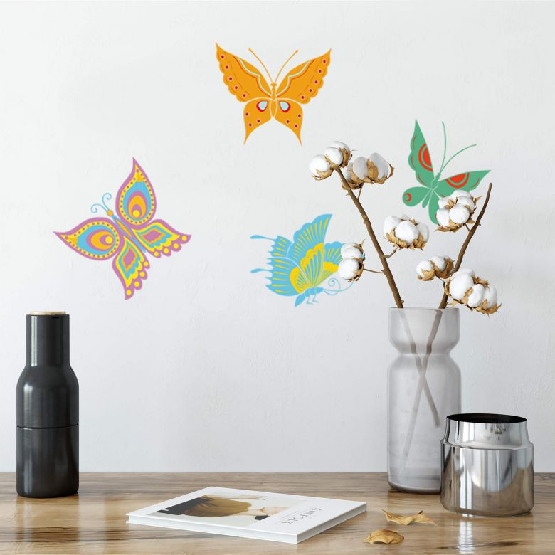 Wandtattoo Schmetterlinge 6
