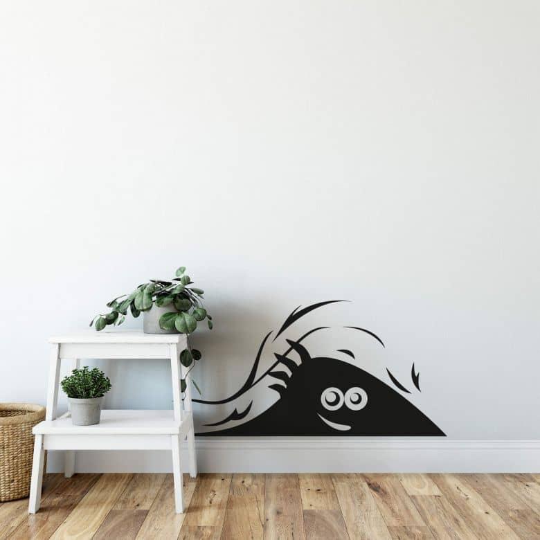 Sticker mural - Monstre curieux