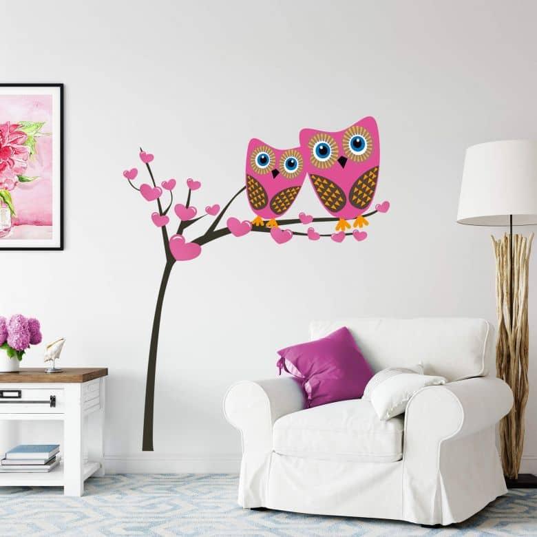 Owls Tree Wall sticker