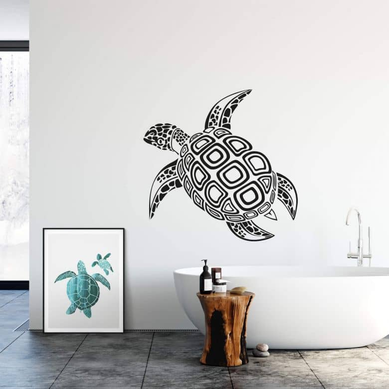 Sticker mural - Tortue