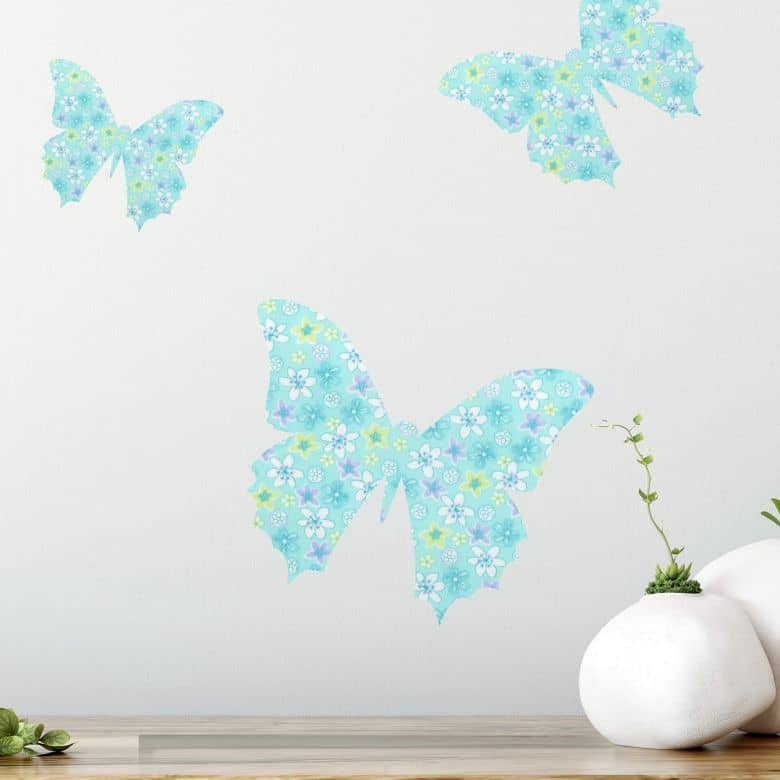 Wandtattoo Schmetterling 01 (Muster)