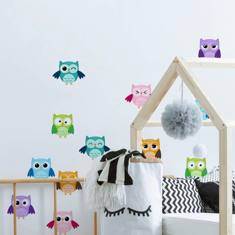 Owls Set - Wall Sticker