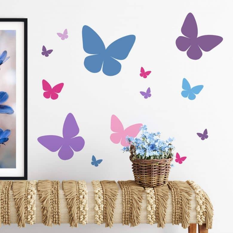 Sticker mural - Papillon 8