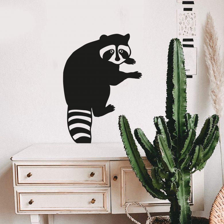 Wall sticker Raccoon 02