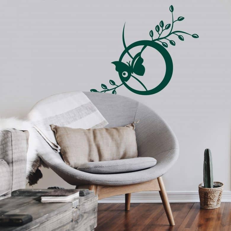 Sticker mural - Nature Moderne